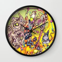 Low Life Adventurerers Wall Clock