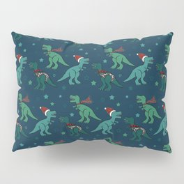 Holiday T-Rex Pillow Sham