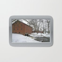 Winter Impression - Watermill Bath Mat
