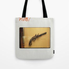 Kodachrome Pistol Print Tote Bag