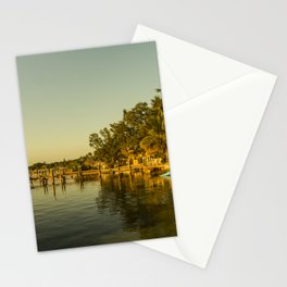 Key Largo Gold Stationery Cards