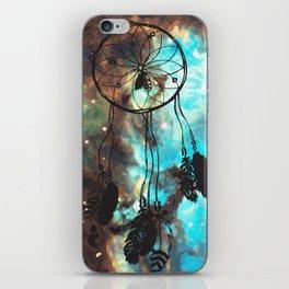 Dreamcatcher (blue) iPhone Skin