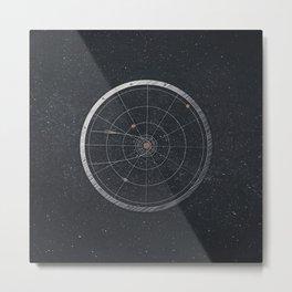 Vintage Cosmos: Hayley's Comet 1835 Metal Print