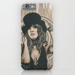 Stevie Nicks Poster - Art Print - Gold Dust Woman - Limited Prints available - Gypsy - Boho - Mandala iPhone Case