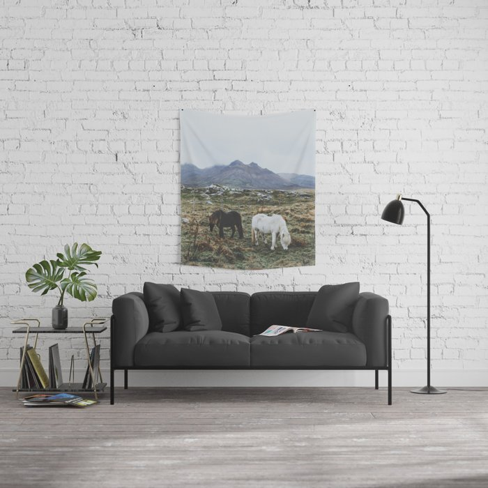 Iceland X Wall Tapestry