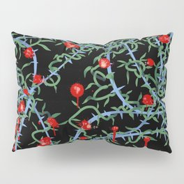 Rose with Barbed Wire Pillow Sham