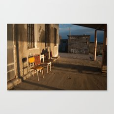 LONELY CHAIRS #7 Canvas Print