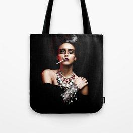 Lady Smoke Tote Bag