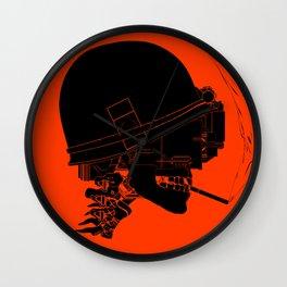 Agent Orange Wall Clock