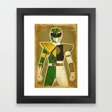 Green With Envy Framed Art Print