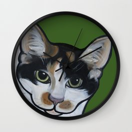 Callie the Calico Wall Clock