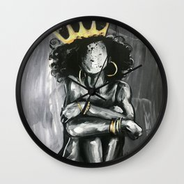 Naturally Queen IX Wall Clock