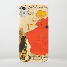 """Théophile Steinlen """"Lait Pur de la Vingeanne Stérilisé"""" iPhone Case"""