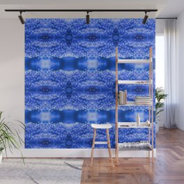 beautiful coral pattern blue magical Wall Mural