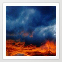 Sunset #222 Art Print
