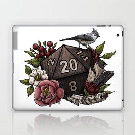 Druid Class D20 - Tabletop Gaming Dice Laptop & iPad Skin