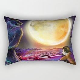 Moonlit Night Rectangular Pillow