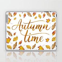 Autumn Time Laptop & iPad Skin
