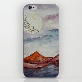 Lightning Moon  iPhone Skin