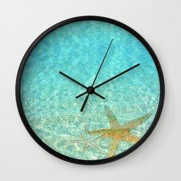 Sea Treasures Wall Clock