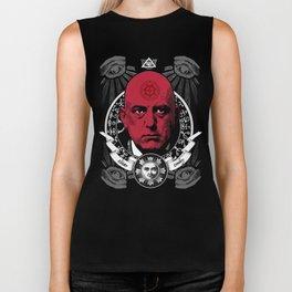 Aleister Crowley T-Shirts by LosFutbolko Biker Tank