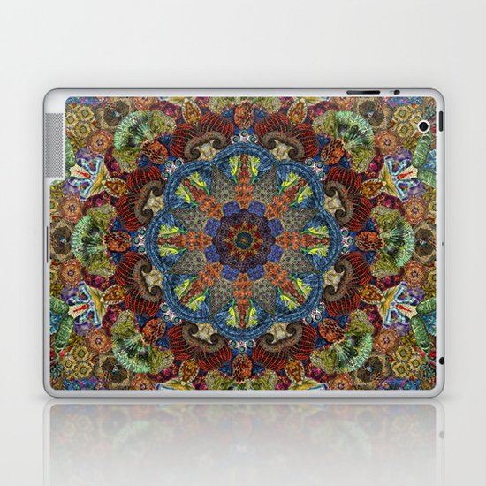 Hallucination Mandala 2 Laptop & iPad Skin