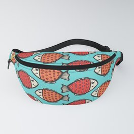 Colorful Fish Fanny Pack