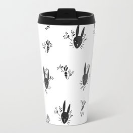 Vintage Bunnies Travel Mug