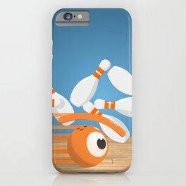 bowlling eye iPhone Case