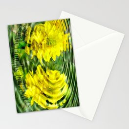 """Earth Laughs in Flowers"" by Artist McKenzie http://www.McKenzieArtStudio.com Stationery Cards"