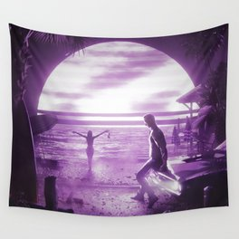 BEACHSIDE Wall Tapestry
