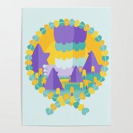 Mega-Yeti Poster