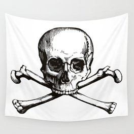 Skull and Crossbones | Jolly Roger Wall Tapestry
