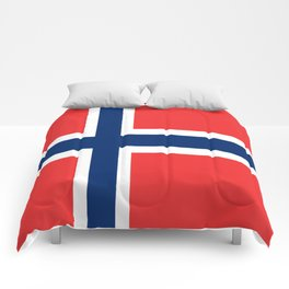 Flag of norway Comforters
