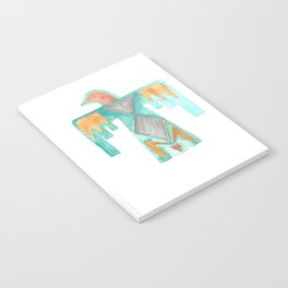 Thunder Bird Tribal Design Notebook