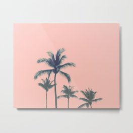 Cotton Candy Summer Metal Print