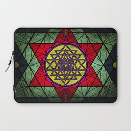 Sacred Geometry for your daily life- SRI YANTRA Laptop Sleeve