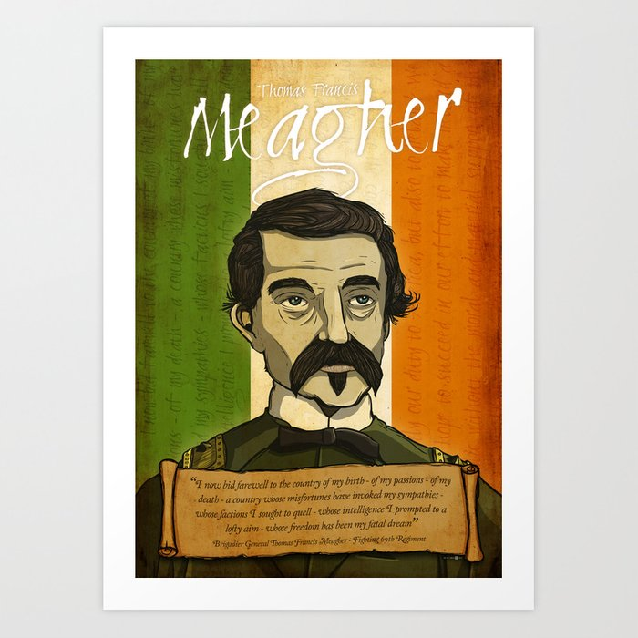 TF Meagher Art Print