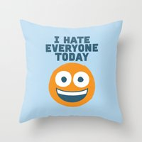 Loathe Is the Answer Throw Pillow