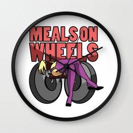 Meals On Wheels Wall Clock
