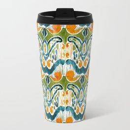 sugarsnap balinese ikat mini Travel Mug