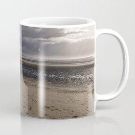 Dark clouds and clear sky Coffee Mug