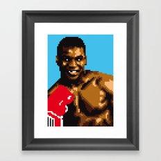 American puncher Framed Art Print
