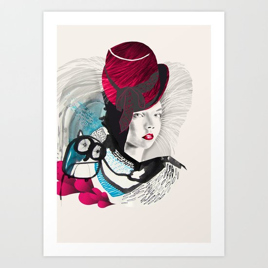 jokergirl Art Print