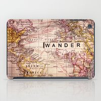 not all who wander are lost iPad Cases featuring wander by Sylvia Cook Photography