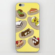 desserts iPhone Skin