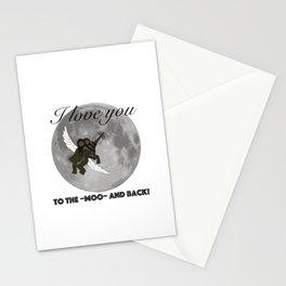 To The Moo And Back Stationery Cards