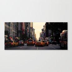 NYC Taxi | cinamtic Canvas Print
