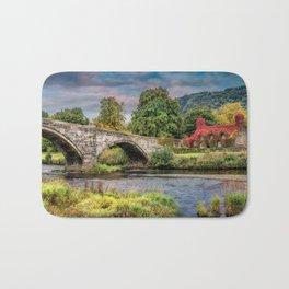 Llanrwst Bridge and Tea Room Bath Mat