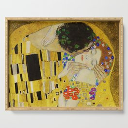 The Kiss, Gustav Klimt Serving Tray